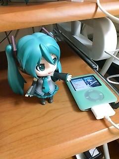 iPodなの。