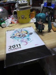 2011ピアプロカレンダー。