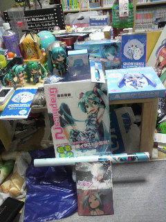 札幌雪ミクさんまつり。