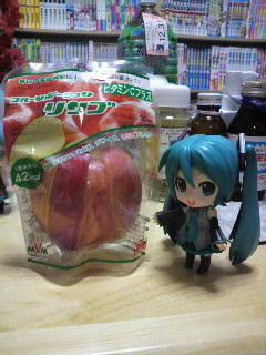 リンゴの。