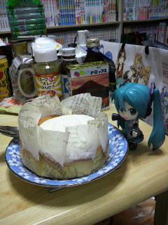 このシフォンケーキは。