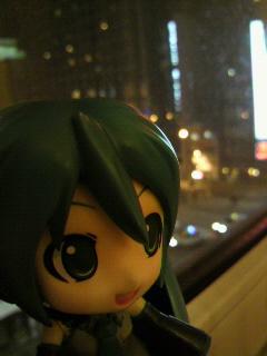 夜の札幌。