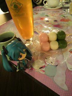 グッ鉄桜ミクさんカフェ。