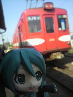 お久しぶりの銚子電鉄。