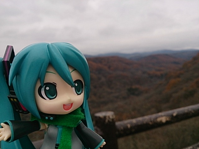 晩秋の八ヶ岳山麓。
