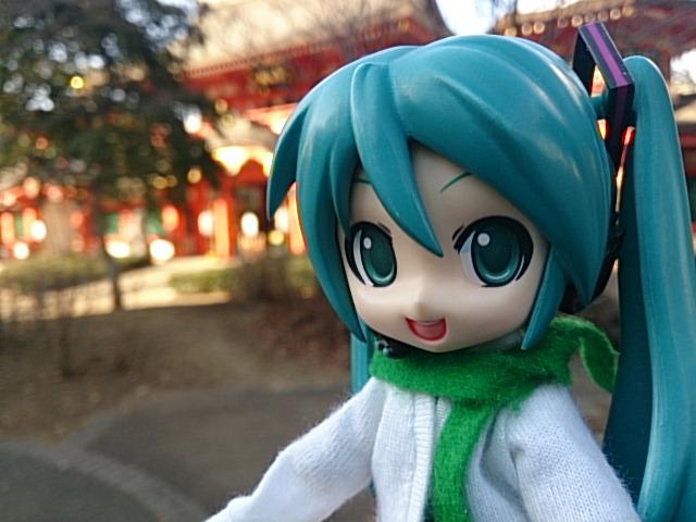 千葉神社に初詣です。