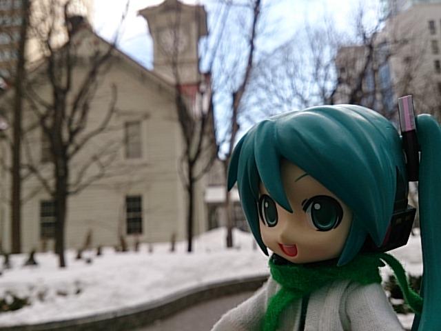 札幌時計台。