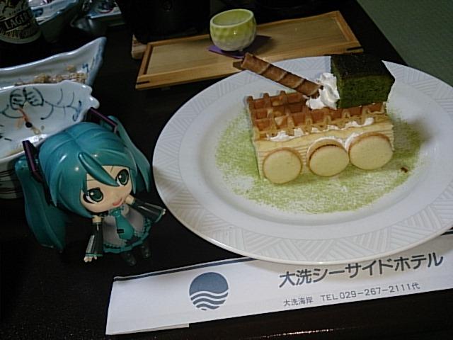 戦車ケーキ。
