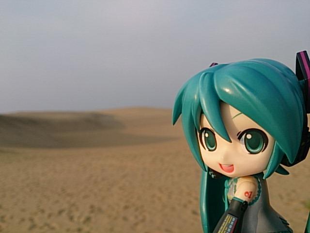 鳥取砂丘。