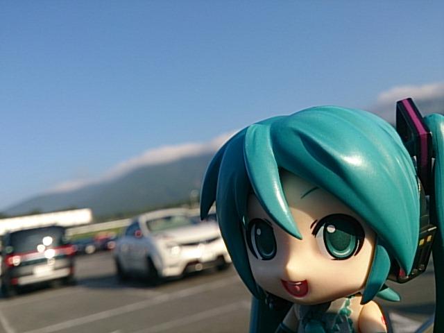 朝の15夏富士。
