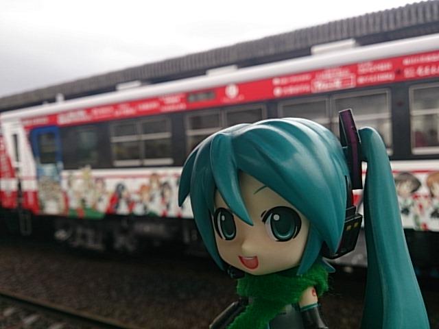 ガルパン列車3号。