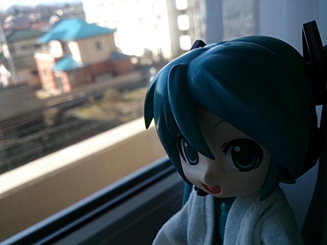 立川で朝。