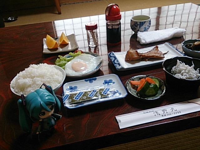 浅野丸さんのうまうま朝ごはん。