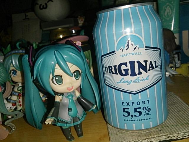 フィンランドビール。
