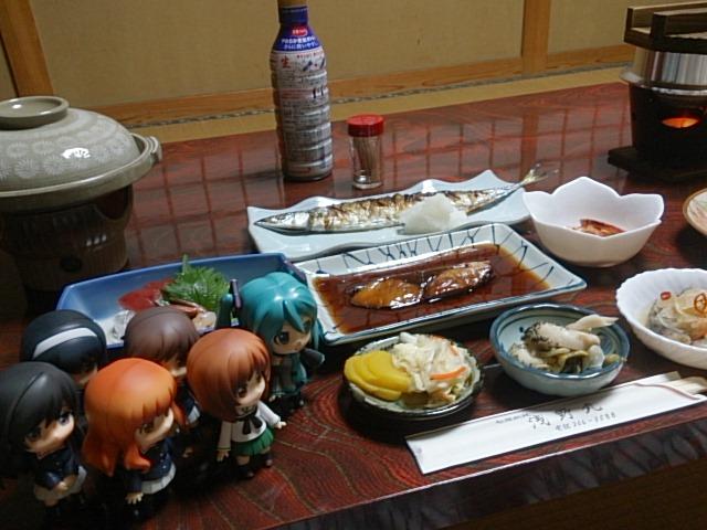 みんなで浅野丸さんの晩ごはん。