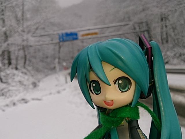 飛騨は豪雪やよミクさん。