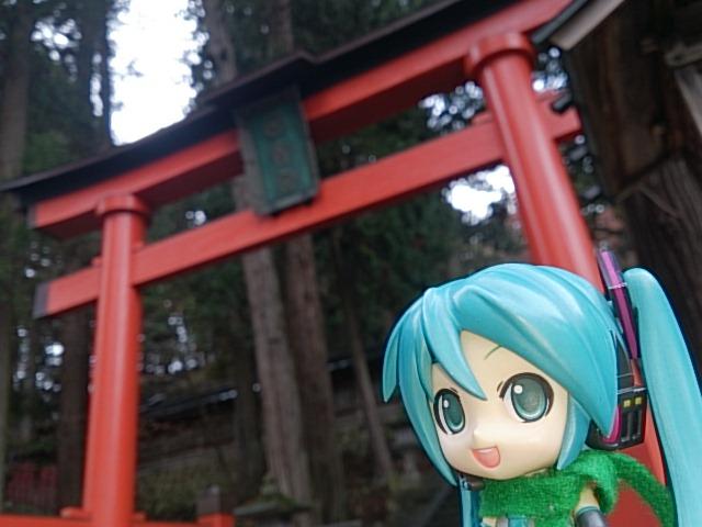 高山日枝の宮水神社。