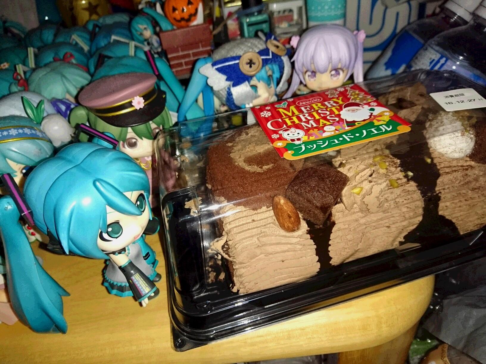 ミクさんにケーキを。