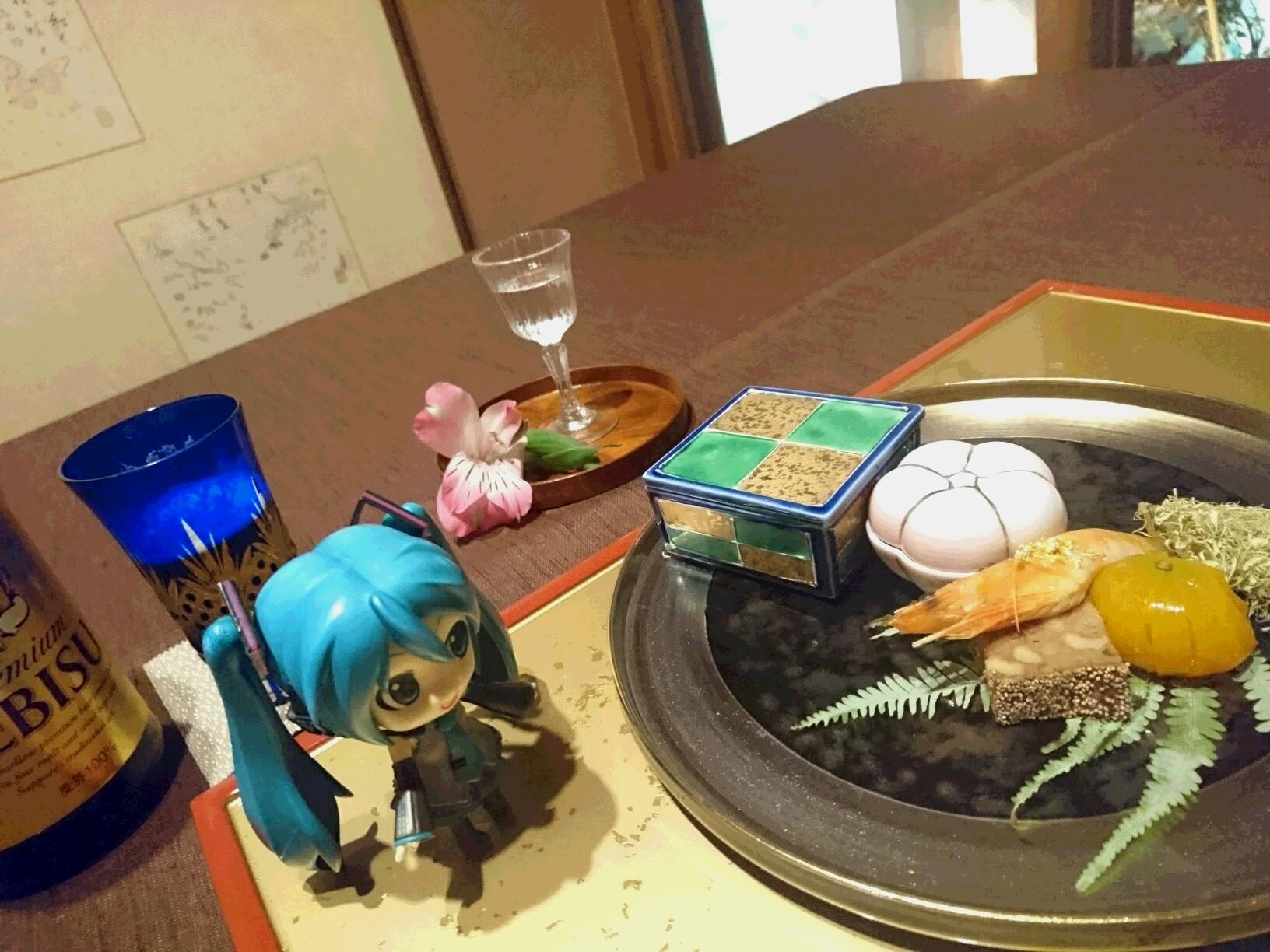 八ツ三館さんで風情の夕食。