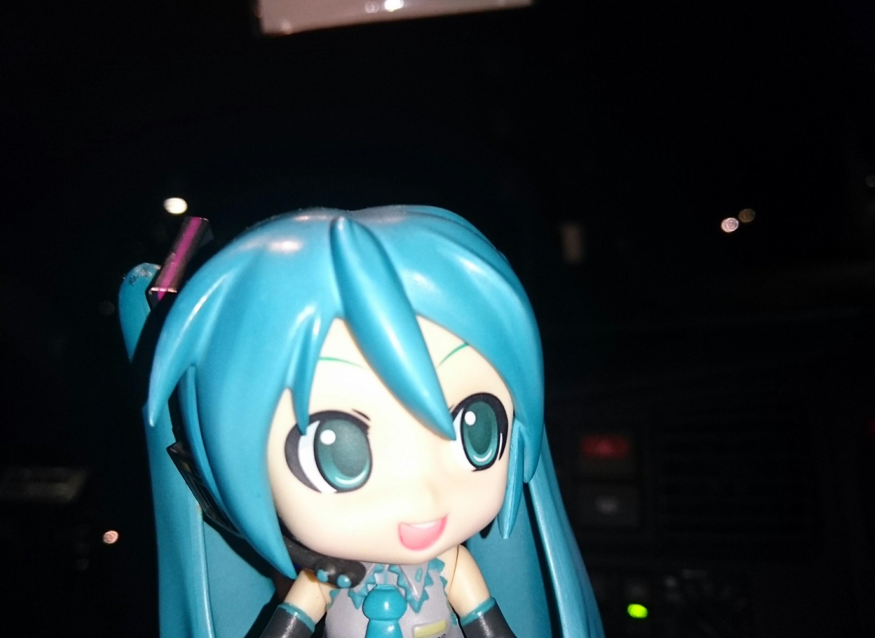 星空月夜ドライブ。