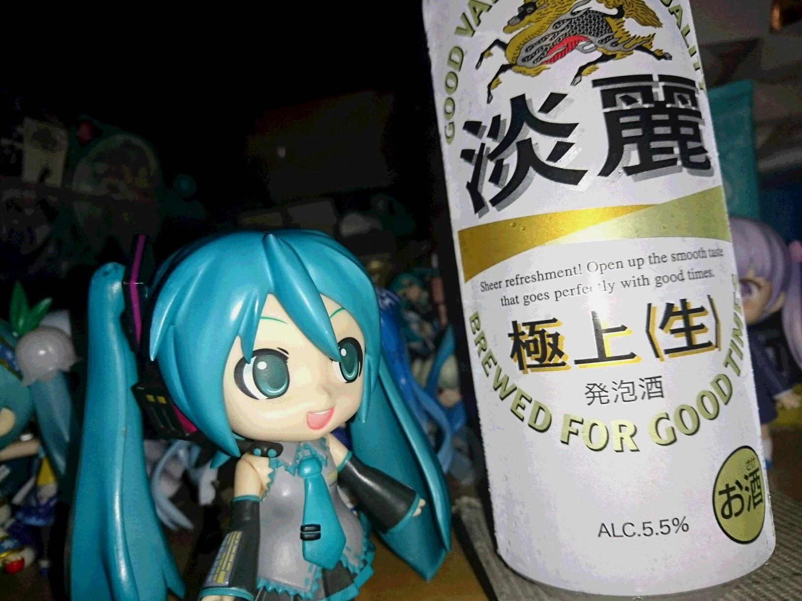 夏ビール。