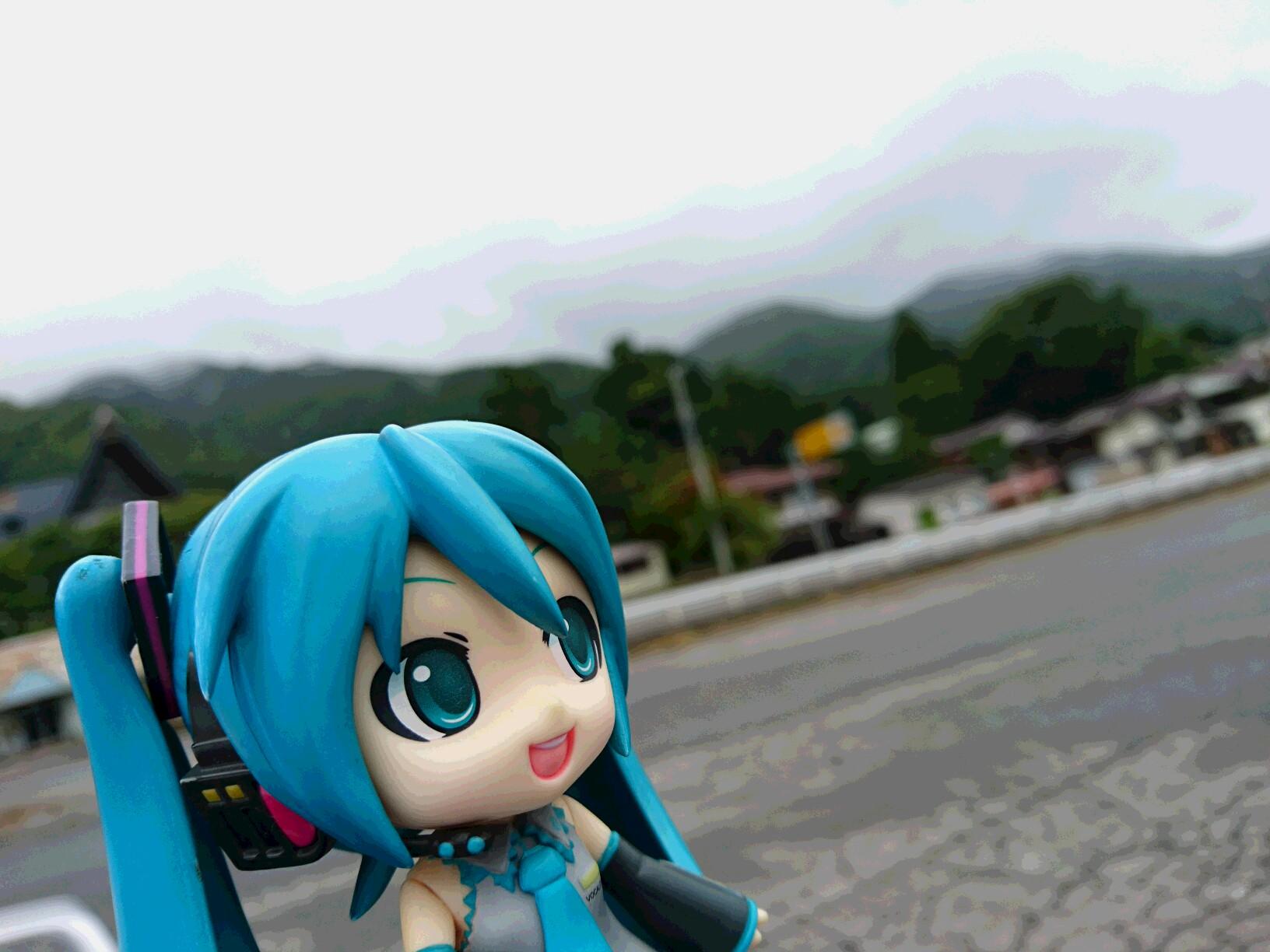 三葉ちゃんの糸守町は。