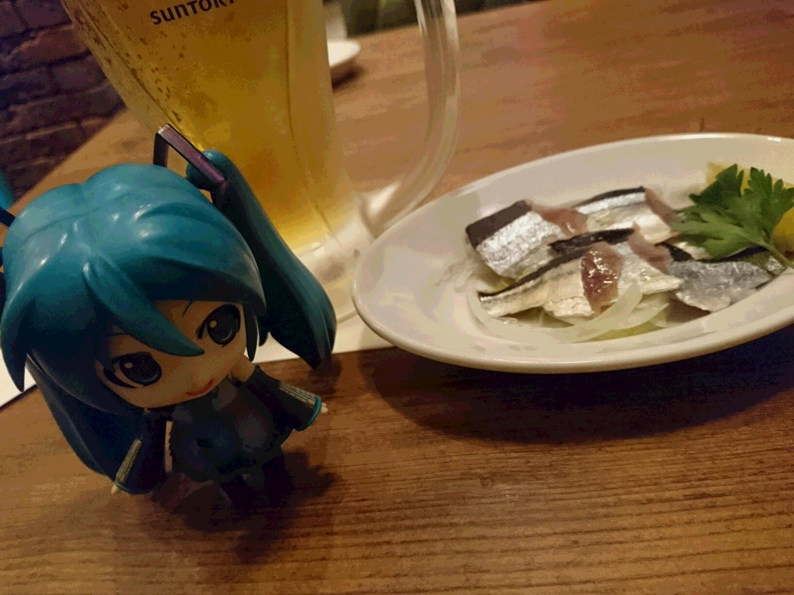 秋刀魚のカルパッチョ。
