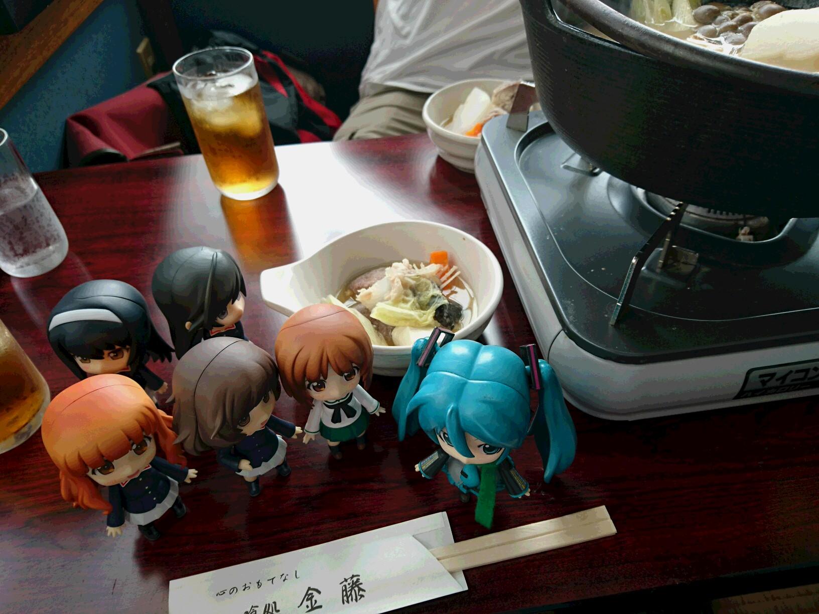 金藤さんであんこう鍋。