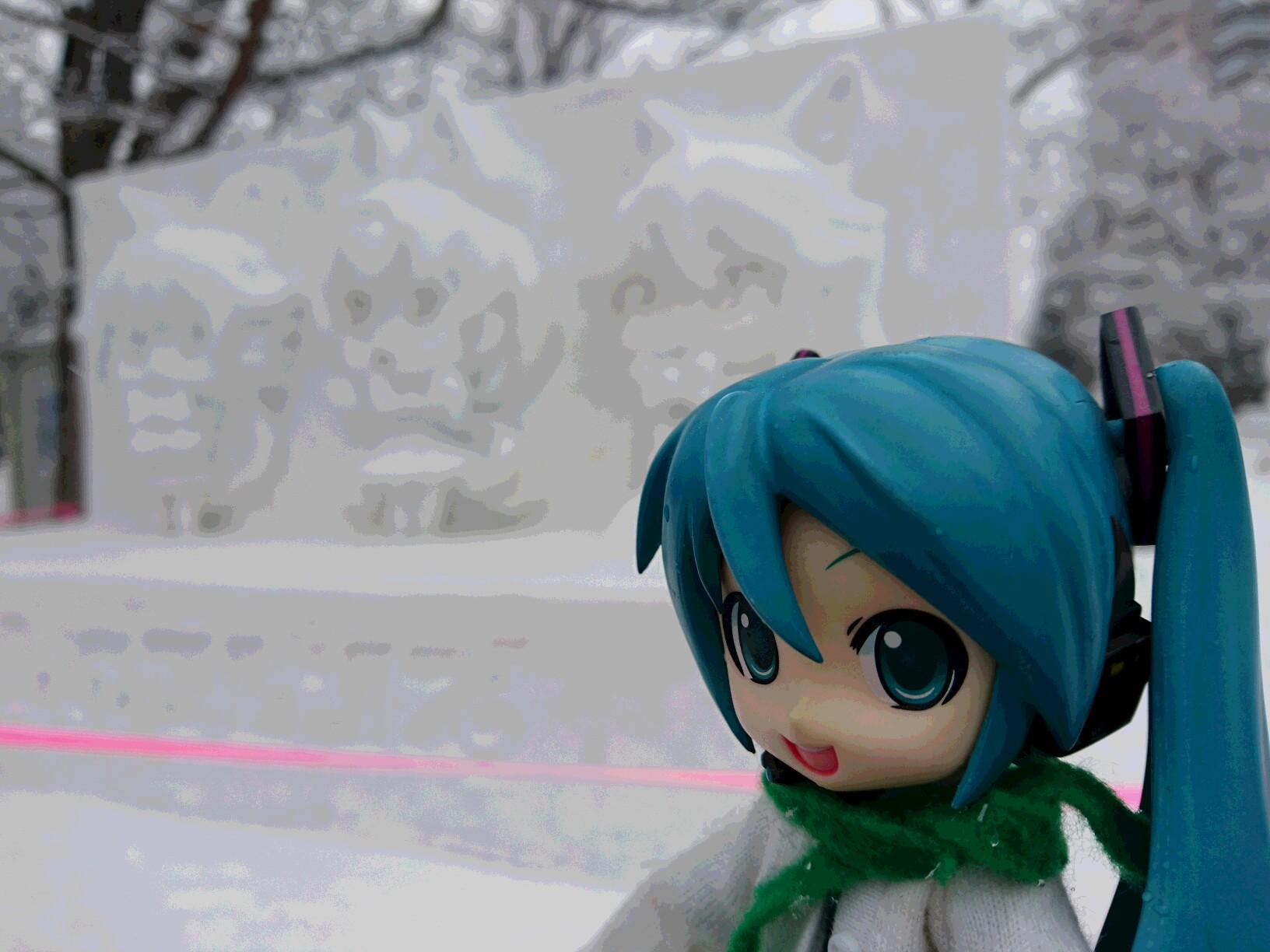 雪のフレンズ。