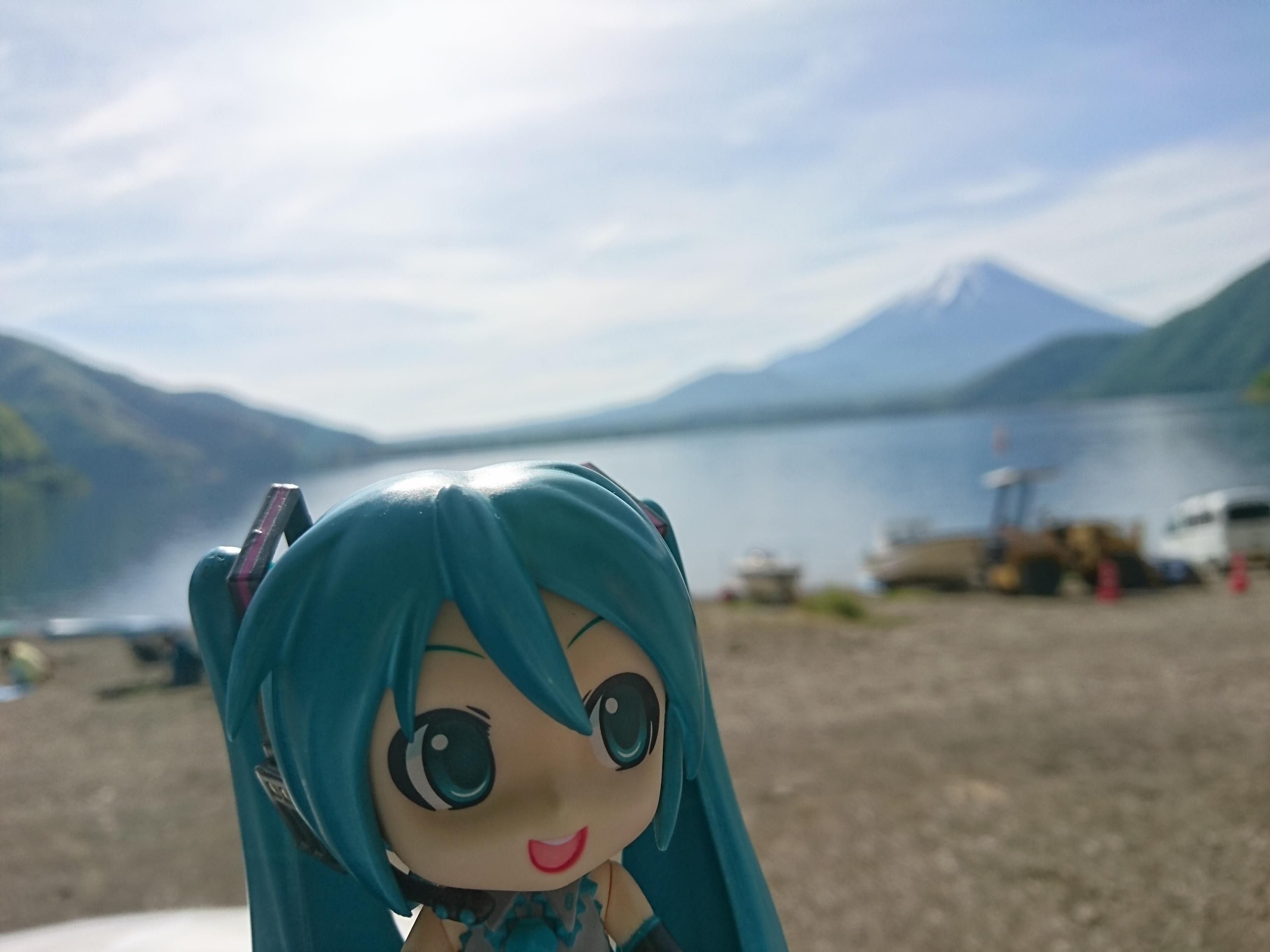 富士山本栖湖浩庵さん。