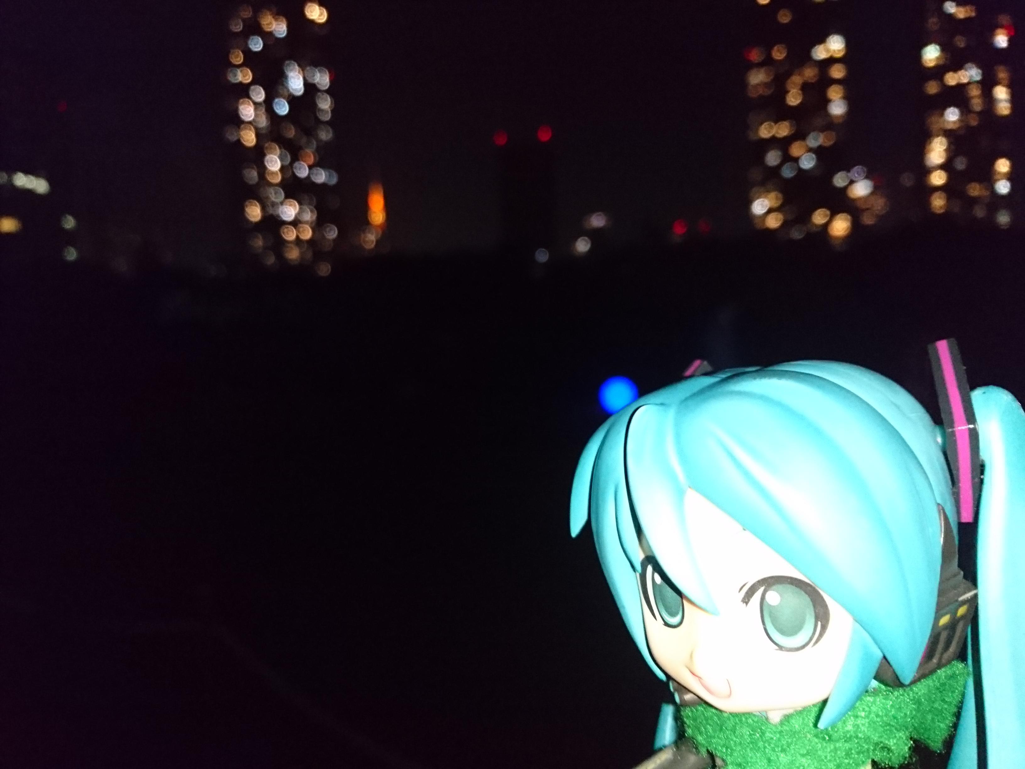 浜離宮東京150年ミクさん祭。