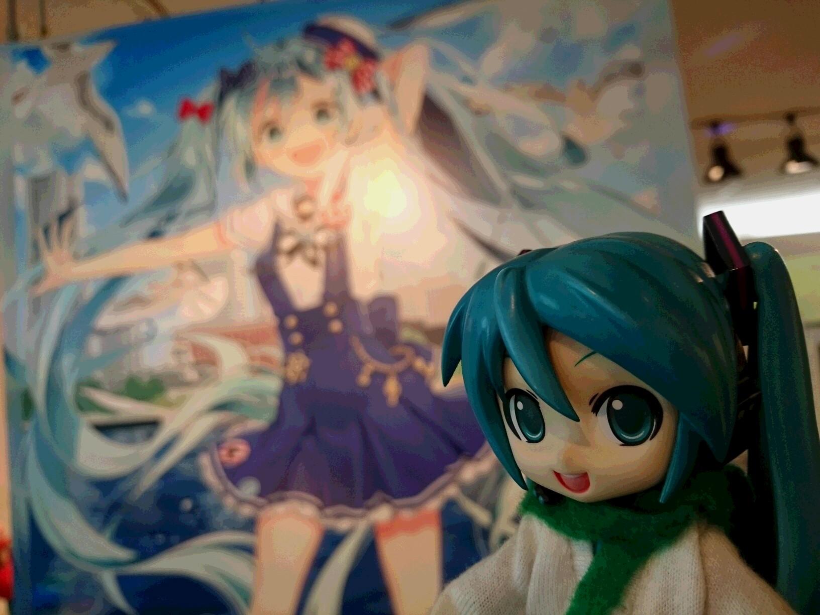 横浜人形の家ミクさん。