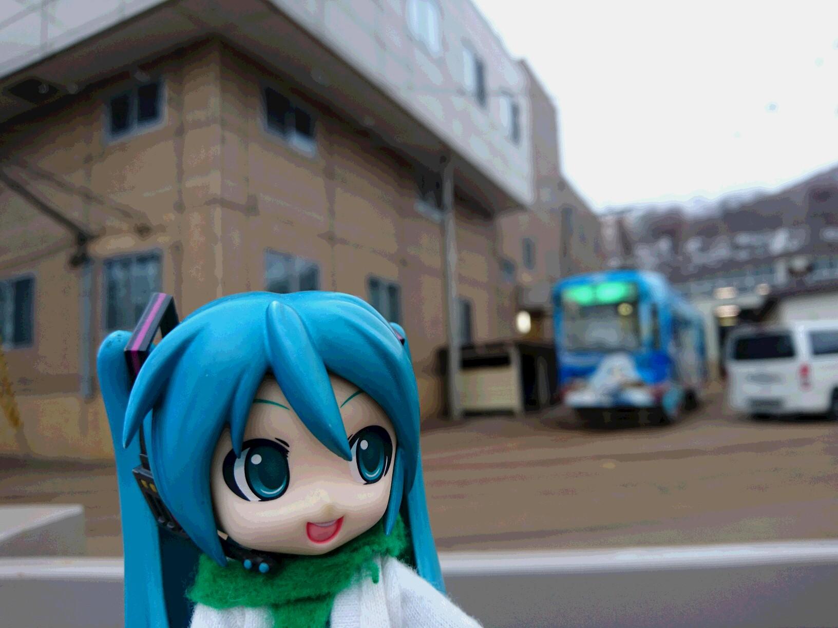 朝雪のお姫さま電車